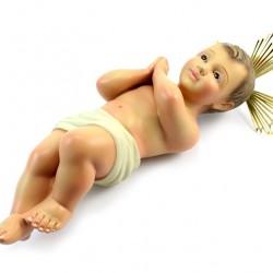 Plaster Baby Jesus from Jerusalem 35 cm