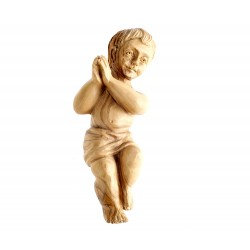Olive-tree Wood Baby Jesus from Jerusalem 20 cm