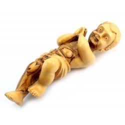 Olive-tree Wood Baby Jesus from Jerusalem 31 cm