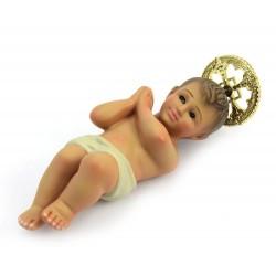 Plaster Baby Jesus from Jerusalem 12 cm