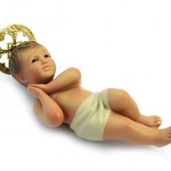 Plaster Baby Jesus from Jerusalem 16 cm