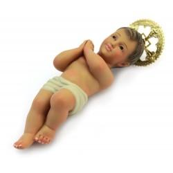 Gesù Bambino di Jerusalemme in gesso 20 cm