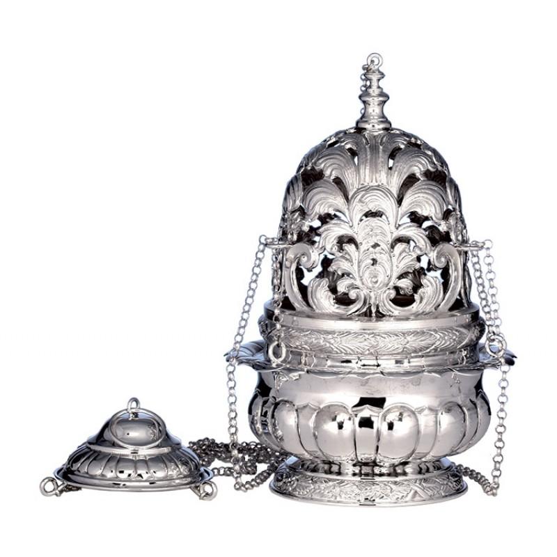 Turibolo roma argento 800 25 cm for Arredi sacri roma