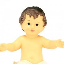 Resin Baby Jesus White Vest 23x30 cm