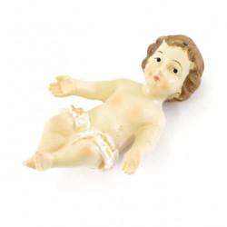 Colored Resin Baby Jesus White Vest 3x4.5 cm
