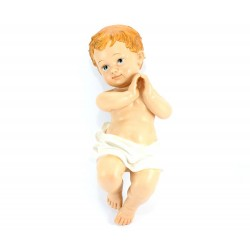 Resin Bethlehem Baby Jesus 38 cm