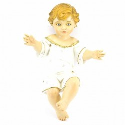 Resin Baby Jesus Open Arms 43 cm