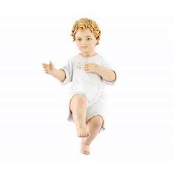 Gesù Bambino Benedicente in resina 30 cm Landi