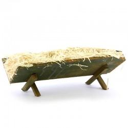 Baby Jesus Resin Cradle 23x13x35 cm