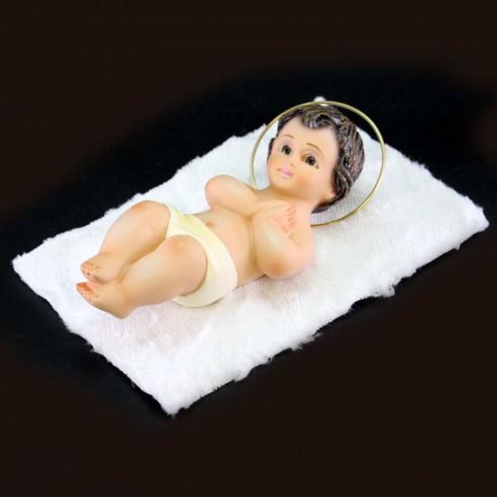 Plaster Baby Jesus praying hands 18 cm