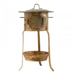 Fornace per presepe in ferro Misura gigante 22x8 cm