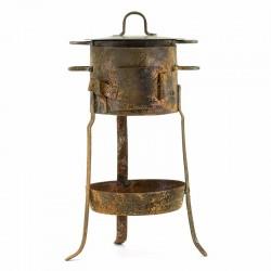 Fornace per presepe in ferro Misura grande 15x7 cm