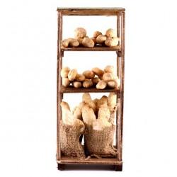Piece of furniture with Bread Sacks 10x23x8 cm