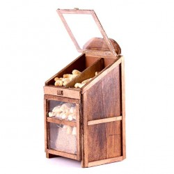 Piece of furniture with Bread 11.5x23x11 cm