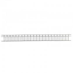 Ringhiera in ferro per balcone da presepe 4x45 cm