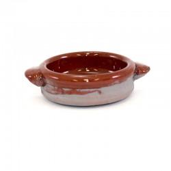 Casseruola rustica in terracotta smaltata Diametro 5 cm
