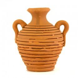Anfora rustica in terracotta 5x5 cm