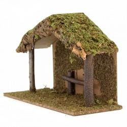 Hut for Nativity Scene A 43x28x18 cm