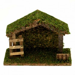 Empty hut for crib 23x16x10 cm