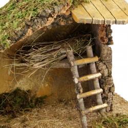 Hut for Nativity Scene 49x33x26 cm