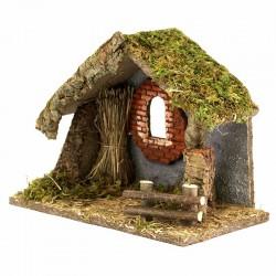 Hut for Nativity Scene 33x24x17 cm