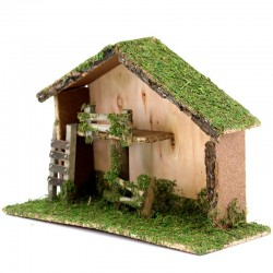 Hut for Nativity Scene 35x23x13 cm