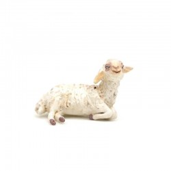 Pecora-C in terracotta extra per pastori 10 cm