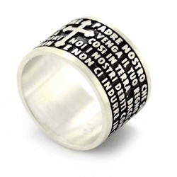 Our Father Ring silver 925°°