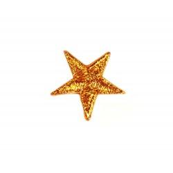 Stella termoadesiva ricamata a macchina 2 cm