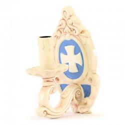 Appliques ceramica smaltata attacco elettrico 21 cm