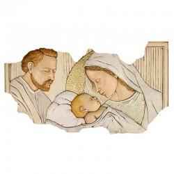 Quadro Sacra Famiglia 61x34 cm Collezione Shan