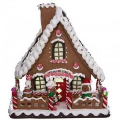 Brown Gingerbread House 25,4 cm Kurt Adler
