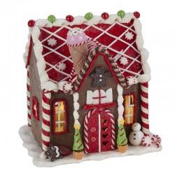 Gingerbread House Snowman 20 cm Kurt Adler