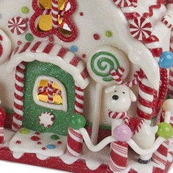 White Gingerbread House 20 cm Kurt Adler
