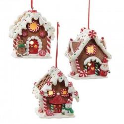Gingerbread Houses 9 cm Kurt Adler