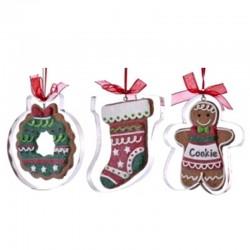 Gingerbread with Cookie Cutter Ornaments 11,5 cm Kurt Adler
