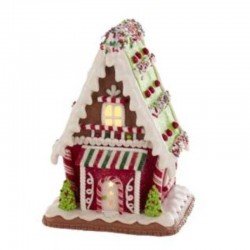 Gingerbread House candies and trees 18 cm Kurt Adler