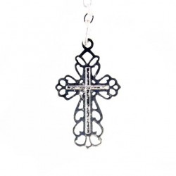 Single Decade Rosary Necklace Stones grain 8-10 mm