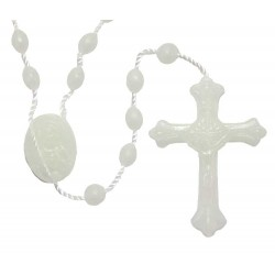 Rosary Open Cross Phosphorescent 100 items package