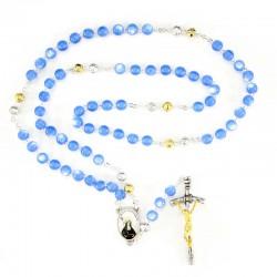 Rosary in plastic Saint Brigida Bead 7 mm
