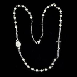 Round neck bead rosary Bead 4 mm