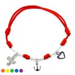 Twine Bracelet Faith Hope Charity
