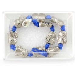 Rosary Bracelet Metal Angels 19 cm