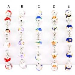 Elastic Rosary Bracelet Ceramic Grain 8 mm