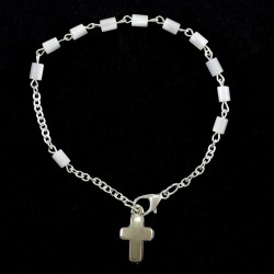 Rosary Bracelet Cylinder Grain 4x5 mm