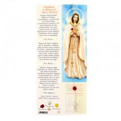 Rosary Bracelet Silver Red Rose Grain 3 mm