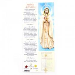 Silver Rosary Bracelet Golden Rose Grain 3 mm