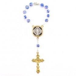 Single Decade Rosary Electronic Hail Mary Grain 8 mm