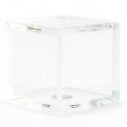 Cubic Plastic Case 4.5x4.5 cm