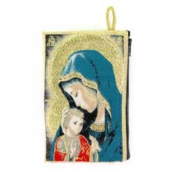 Money Purse Virgin with Child 10x15 cm